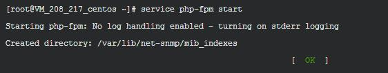 启动php-fpm服务