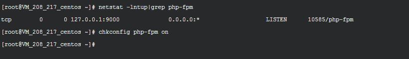 检查php-fpm服务是否正常启动